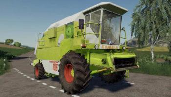 Мод комбайн Claas Dominator 106 v1.0.0.3 для Farming Simulator 2015