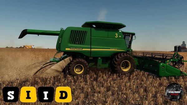Мод комбайн John Deere 50-60 STS series v1.2 для Farming Simulator 2015