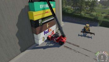 Мод погрузчик Kalmar DRF450 60S5 v1.1 для Farming Simulator 2015