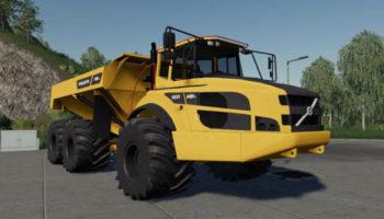 Мод самосвал Volvo A40g v2.1.2.0 для Farming Simulator 2015