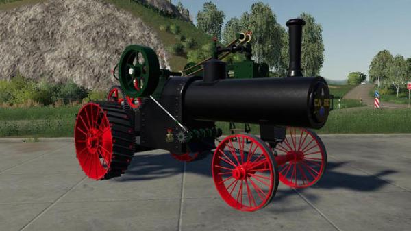 Мод трактор Case 1919 Steam Tractor V0.0.0.1 для Farming Simulator 2015