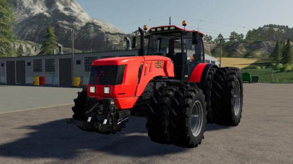 Мод трактор МТЗ-3022ДЦ v1.2 для Farming Simulator 2015