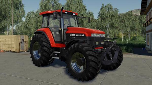 Мод трактор New Holand Genesis 70 series v1.1 для Farming Simulator 2015