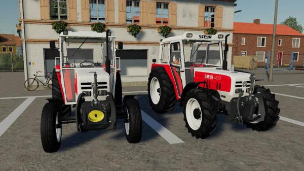 Мод трактор STEYR 8075 RS2 basic version v1.2.0 для Farming Simulator 2015