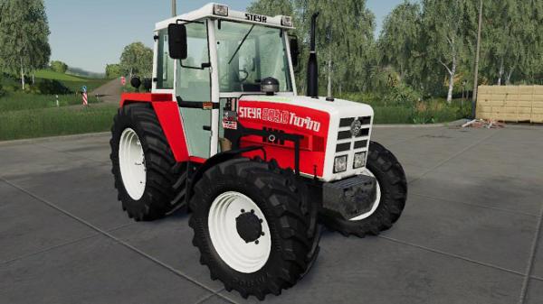 Мод трактор STEYR 8090a Turbo SK2 BASIS v1.5.7 для Farming Simulator 2015