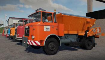 Мод ПАК Skoda Liaz 706 — Communal pack v1.0 для Farming Simulator 2015