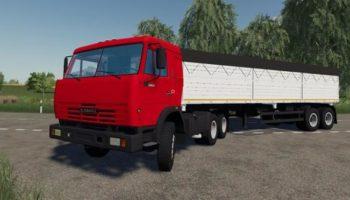 Мод Пак КамАЗ v2.4 для Farming Simulator 2015