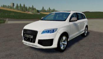 Мод авто Audi Q7 для Farming Simulator 2015