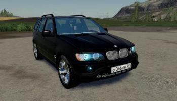 Мод авто BMW X5 E53 v1.0 для Farming Simulator 2015