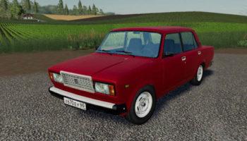 Мод авто ВАЗ 2107 v1.0 для Farming Simulator 2015