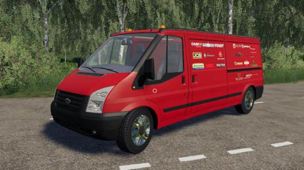 Мод автобус Ford Rumbler Van Workshop v1.1 для Farming Simulator 2015
