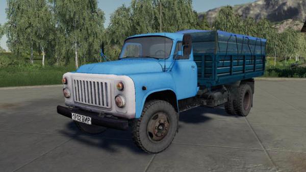 Мод грузовик ГАЗ-53 v1.0 для Farming Simulator 2015