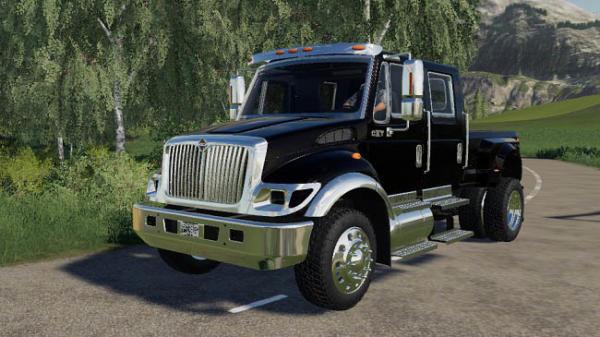 Мод грузовик International CXT 2005 Kentucky Derby v1.0 для Farming Simulator 2015