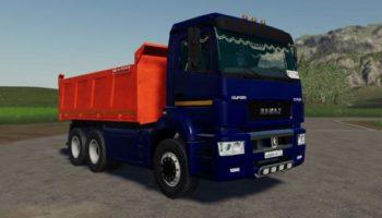 Мод грузовик Камаз 6520 v1.0 для Farming Simulator 2015