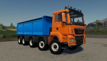 Мод грузовик MAN TGS 18.500 Kipper v1.0.1.0 для Farming Simulator 2015