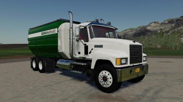 Мод грузовик Mack Pinnacle Feed Truck v2.0 для Farming Simulator 2015
