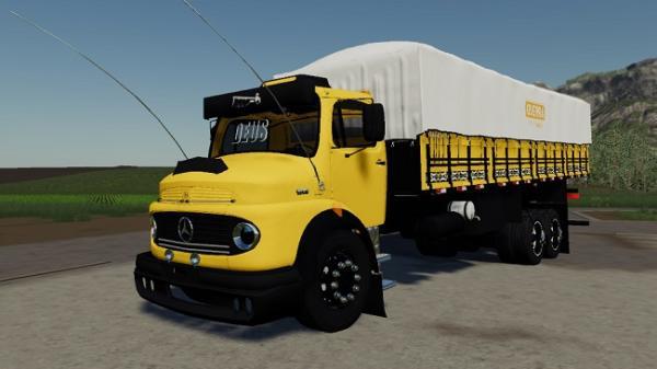 Мод грузовик Mercedes-Benz 1513 v1.0 для Farming Simulator 2015
