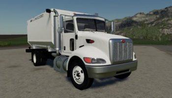 Мод грузовик Peterbilt Feed Truck v1.0.0.0 для Farming Simulator 2015