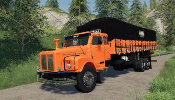 Мод грузовик Scania Jaca v1.0.0.0 для Farming Simulator 2015