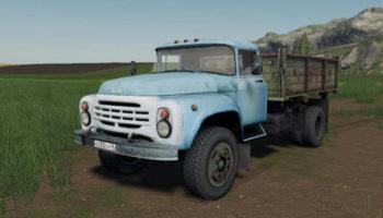 Мод грузовик ЗИЛ-130 Д-245 v1.0.0.0 для Farming Simulator 2015