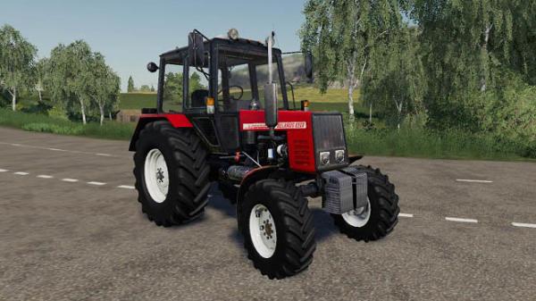 Мод трактор Беларус 820 v1.0 для Farming Simulator 2015