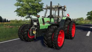 Мод трактор DEUTZ-FAHR Agrostar 6.6 v1.0 для Farming Simulator 2015