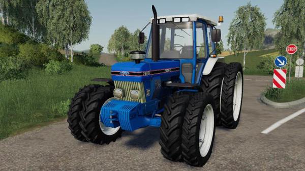 Мод трактор Ford 7810 v1.1 для Farming Simulator 2015