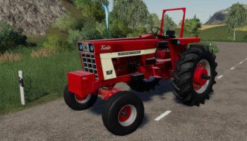 Мод трактор IH 66 series 1066 v2.0 для Farming Simulator 2015