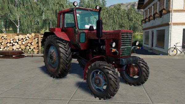 Мод трактор MTZ-82 v1.0 для Farming Simulator 2015