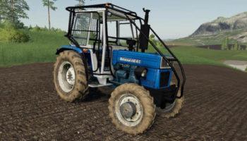 Мод трактор Universal 445 DTC Turbo v1.0 для Farming Simulator 2015