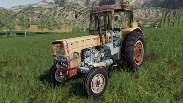 Мод трактор Ursus c360 v1.5 для Farming Simulator 2015