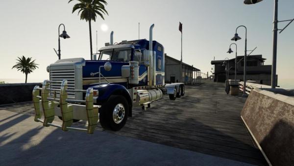 Moд тягач Sx Heavy Truck v1.0.2.0 для Farming Simulator 2015