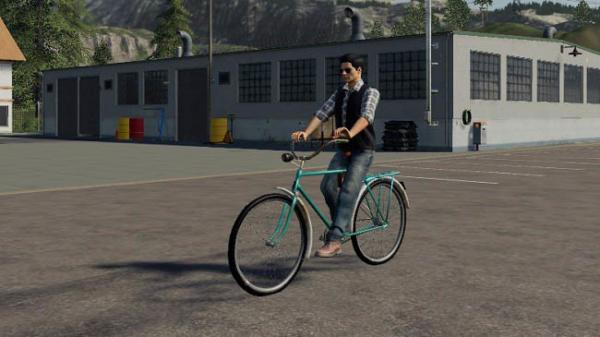 Мод велосипед Bicycle (daru) v1.0 для Farming Simulator 2015