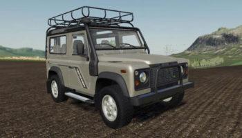 Мод ПАК Land Rover Defender Pack v1.0 для Farming Simulator 2015