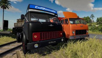 Мод ПАК МАЗ-504 + Прицеп v1.0.0.1 для Farming Simulator 2015