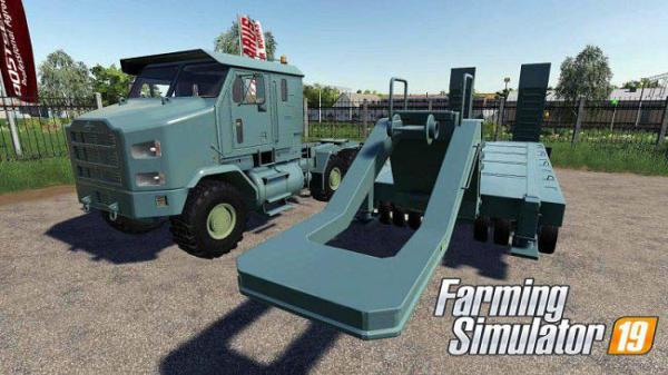 Мод ПАК Oshkosh Defense HET M1070A1 v1.0 для Farming Simulator 2015