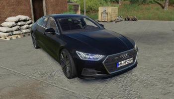 Мод авто Audi A7 2018 v1.0.0.0 для Farming Simulator 2015