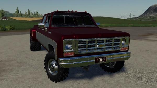 Мод авто Chevy 79 CrewCab v1.0 для Farming Simulator 2015