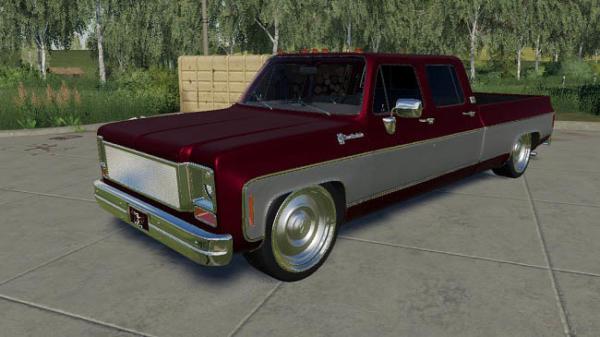 Мод авто Chevy Crew Cab Slammed 1979 v0.1.0.0 для Farming Simulator 2015