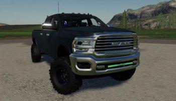 Мод авто Dodge Ram 2500 Turbo Diesel 2020 v1.0.0.0 для Farming Simulator 2015