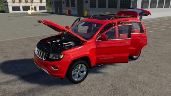 Мод авто Grand Jeep Cherokee v1.1 для Farming Simulator 2015