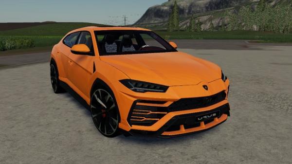 Мод авто Lamborghini Urus v1.0 для Farming Simulator 2015