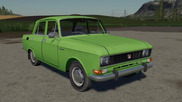 Мод авто Москвич АЗЛК 2140 v1.0 для Farming Simulator 2015
