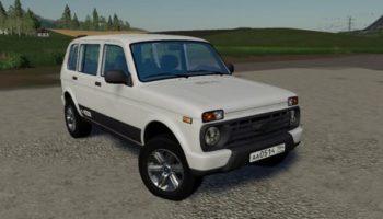 Мод авто Нива Урбан v1.1 для Farming Simulator 2015