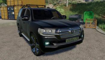 Мод авто Toyota Land Cruiser 200 2016 v1.0 для Farming Simulator 2015