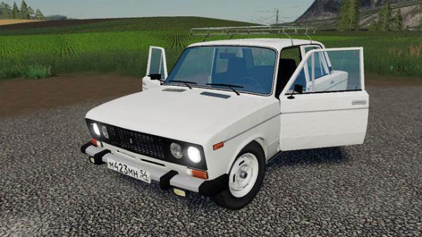 Мод авто Ваз 2106 v2.1 для Farming Simulator 2015