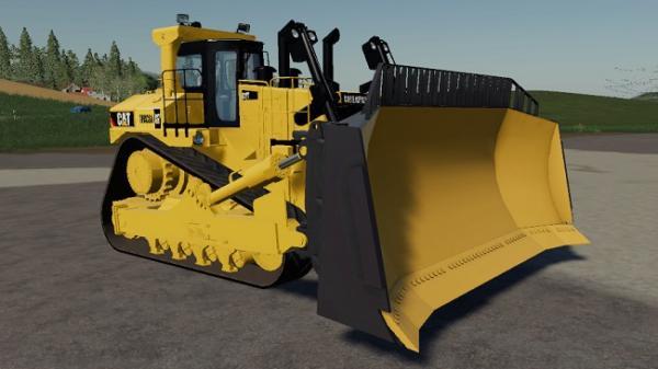 Мод бульдозер Caterpillar D11 v1.0.0.1 для Farming Simulator 2015