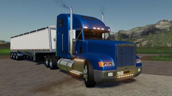Мод грузовик Freightliner Classic v1.0 для Farming Simulator 2015
