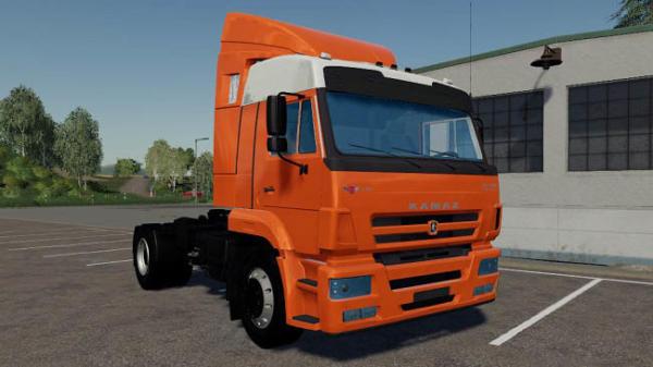 Мод грузовик Камаз 5460 v1.0 для Farming Simulator 2015