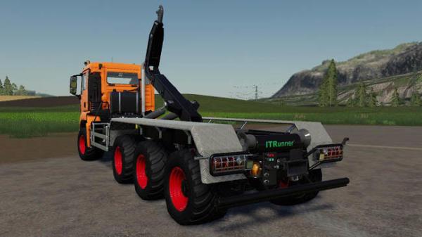Мод грузовик MAN TGS ITRunner v1.0.2.0 для Farming Simulator 2015